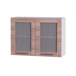 Кухонный модуль Эверест Эко верх 800 витрина 800*580*300