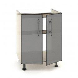 Кухонный модуль Эверест Модерн низ Н84-600 мойка 600*820*461