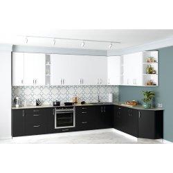 Кухня Феникс Соло zenit antracita md/zenit blanco sm