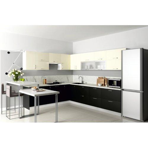 Кухня Феникс Соло zenit antracita md/zenit magnolia sm