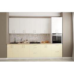Кухня Феникс Соло zenit magnolia sm, zenit blanco sm