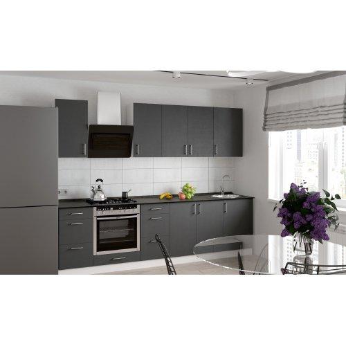 Кухня Феникс Саванна графит