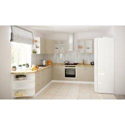 Кухня Феникс Саванна серый камень