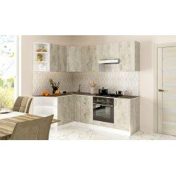 Кухня Феникс Саванна бетон серый