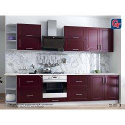 Кухня Гарант Рич мдф ral 3005