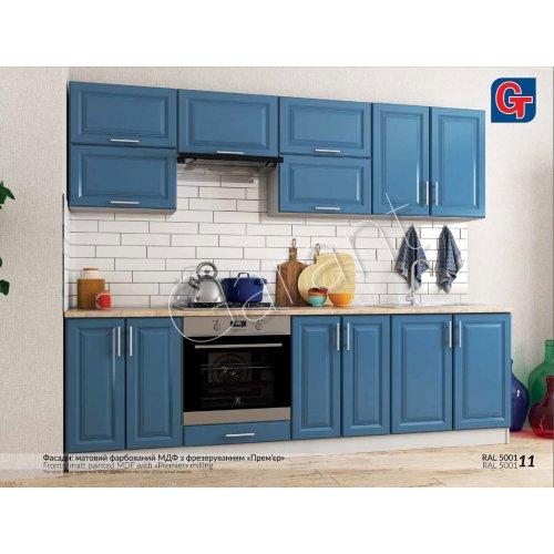 Кухня Гарант Софт Премьер мдф ral 5001