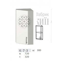 КС дсп К7-3 Кут з дверкою 300