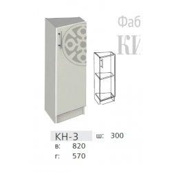 КС дсп КН-3 Тумба кутова з прямою дверкою 300
