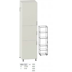 КС дсп КН-32 Шафа 3-х дверна (В - 2320мм) 300
