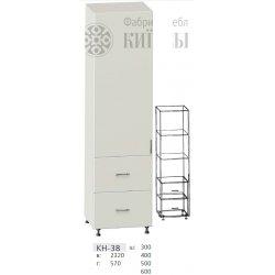 КС дсп КН-38 Шафа 1-но дверна + 2 шухл. (В - 2320мм) 300