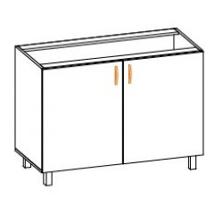 Кухонный модуль 100 низ Паула МДФ