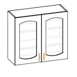 Кухонный модуль 80 верх Паула МДФ