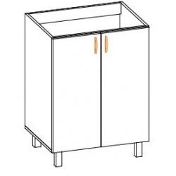 Кухонный модуль 60 низ Паула МДФ