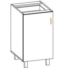 Кухонный модуль 50 низ Паула МДФ