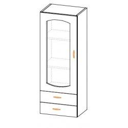 Кухонный модуль 50 пенал малый Паула МДФ