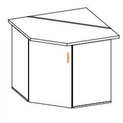 Кухонный модуль Угол низ 1Дв Паула МДФ