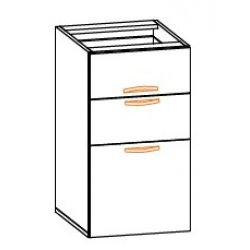 Кухонный модуль 40 нш (метабокс) Кармен МДФ
