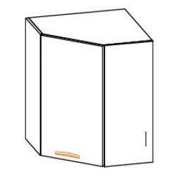 Кухонный модуль Угол верх Кармен МДФ