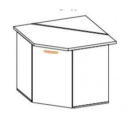 Кухонный модуль Угол низ 1Дв Кармен МДФ