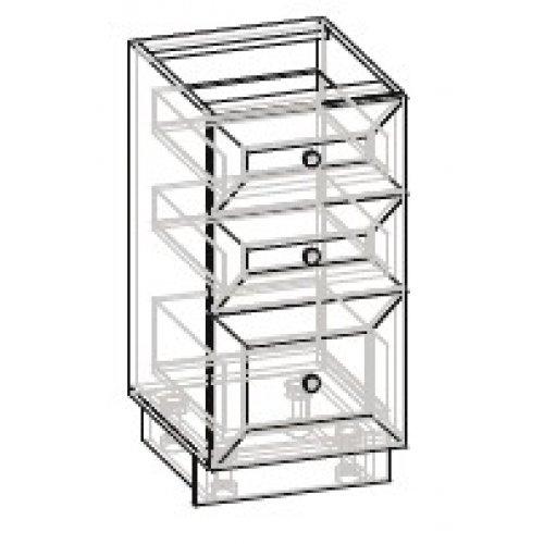 Кухонный модуль 40 низ ящики Роял ДСП