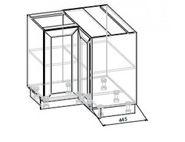 Кухонный модуль Угол низ 2Дв Роял ДСП