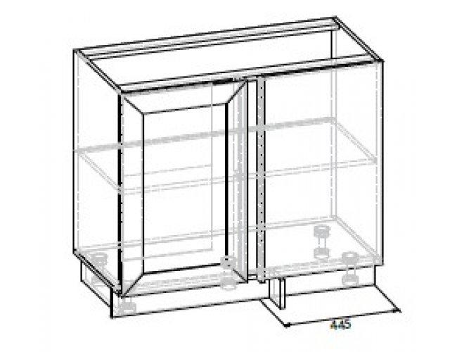 Кухонный модуль Угол низ 1Дв105 Роял ДСП