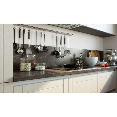 Кухня МДФ AGT ваниль/бежевый текстура