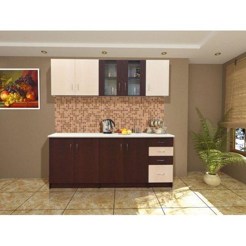 Кухня Свит Меблив Венера дсп венге темный/светлый