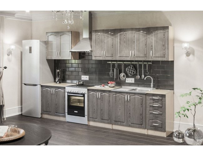Кухонный модуль СМ Оля 57×57Ск 570*682*270