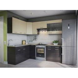 Кухня Свит Меблив Марта дсп венге темный/светлый угловой