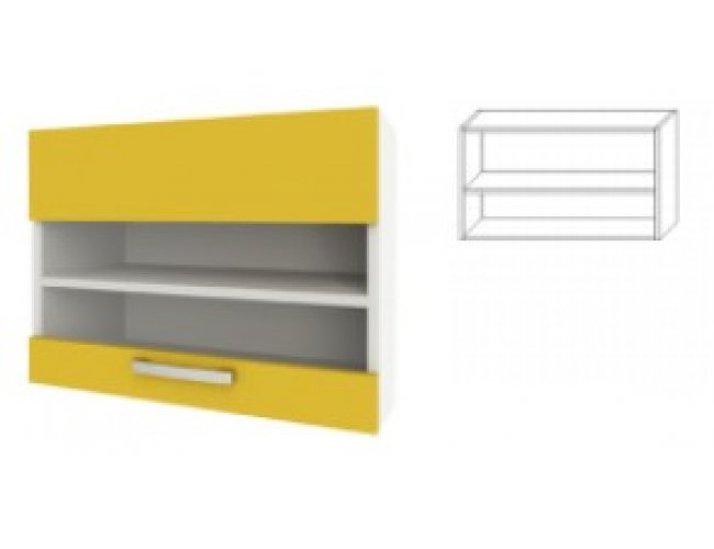 Модуль для кухни Шарлотта 50 верх витрина