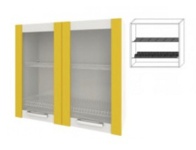 Модуль для кухни Шарлотта 60 верх витрина сушка