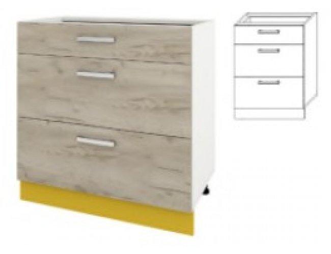 Модуль для кухни Шарлотта 50 низ ящики