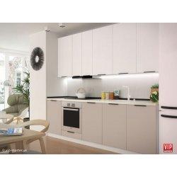 Кухня Vip Master Flat мдф белый/бежевый
