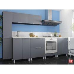 Кухня Vip Master Flat мдф серый