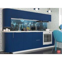 Кухня Vip Master Flat мдф темно-синий