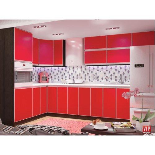 Кухня Vip Master Alta дсп красный