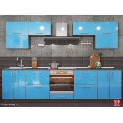 Кухня Vip Master Mirror Gloss дсп аква