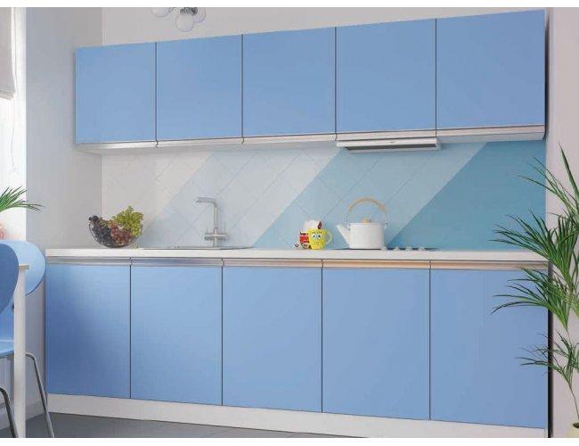 Кухня Vip Master Альбина дсп голубой