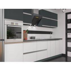 Кухня Vip Master Альбина дсп антрацит/белый