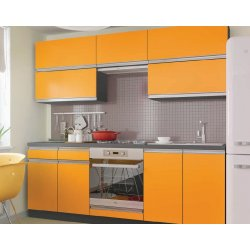 Кухня Vip Master Альбина дсп оранжевый