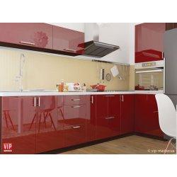 Кухня Vip Master Color-mix мдф красный