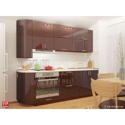 Кухня Vip Master Color-mix мдф шоколадный