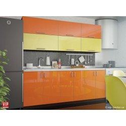 Кухня Vip Master Color-mix мдф желтый/оранжевый