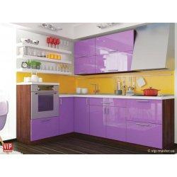 Кухня Vip Master Color-mix мдф сиреневый