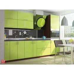 Кухня Vip Master Color-mix мдф оливковый прямой
