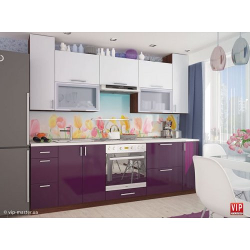 Кухня Vip Master Moda мдф лайт/индиго