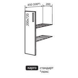 Кухонный модуль VM Альбина низ 1 карго 200*820*450