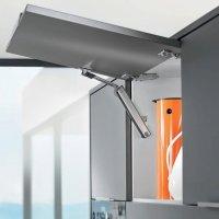 Подьемник AVENTOS HK-XS Идеальный вариант для малых корпусов в верхнем шкафу и шкафу-колонке
